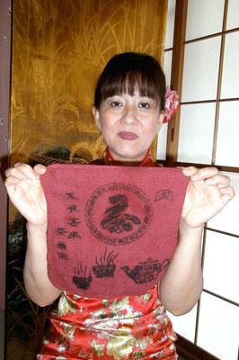 終了時の布巾