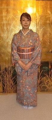 公恵さんのは清子さんが結びました。