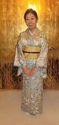 清子さんのは公恵さんが結びました。