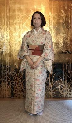 亜紀さんのは公恵さんが結びました。