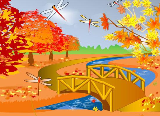 E様作品「秋の風景」
