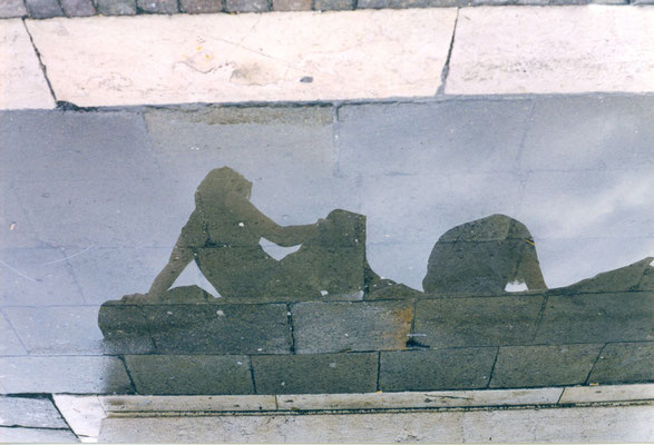 Maruska Mazza, Venice, 2001, analogic photography, series of reflections