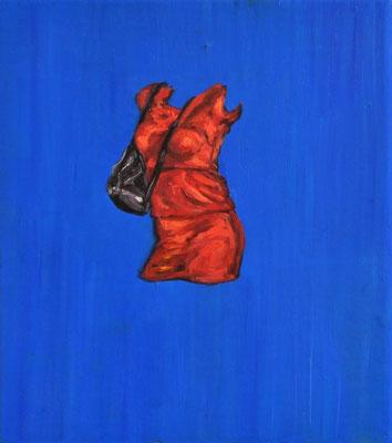 """Masurka Mazza, serie Full-Empty, """" Feierabend"""", 2018 oil on wood, 20 X 25 X 1 cm"""