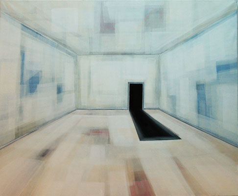 Maruska Mazza, interior room, 1999-2009 oil on canvas, 110x90cm
