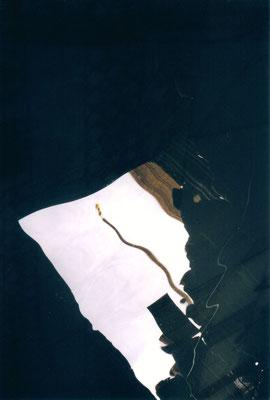 Maruska Mazza, Venice, 2001, analogic photography, series of reflections