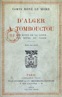 d'Alger à Tombouctou...