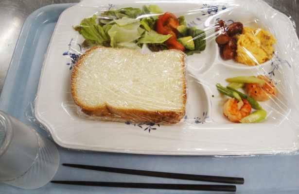 市谷寮 (女子寮) 朝食