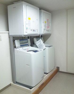 市谷寮 (女子寮) 洗濯室