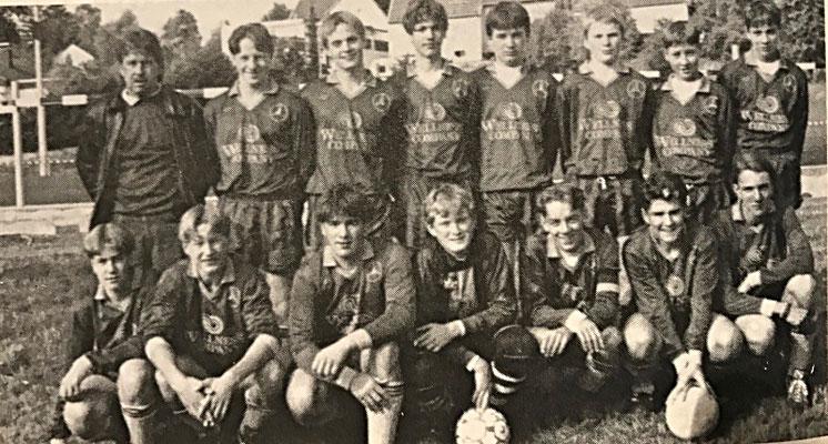 Die B-Jugend in Spielgemeinschaft: DJK St. Ingbert / SV St. Ingbert / SV Oberwürzbach (Bezirksliga Nord/Ost) | Trainer: Norbert Biller