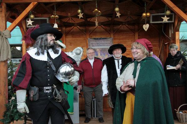 Jan und Griet - das historische Liebespaar aus Bergheim