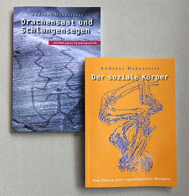 Buchgestaltung für Andreas Hebestreit …