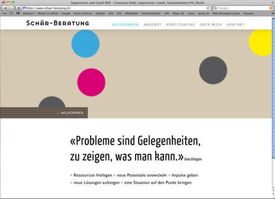 Website für Schär-Beratung
