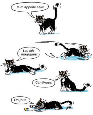 """Illustrationen für das Französisch-Lehrmittel """"Envol"""""""
