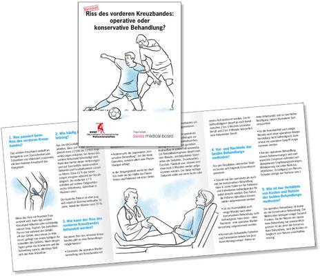 Merkblatt für den Dachverband Schweizerischer Patientenstellen