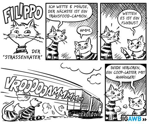 Comic für die IGAWB