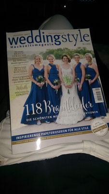 Für Bräute gibts nun jede Menge Impressionen anhand der Weddingstyle