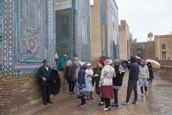 Samarkand, Nekropole Shohizinda