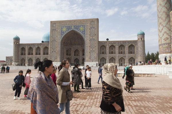 Samarkand, Registan, Tillakori-Medrese