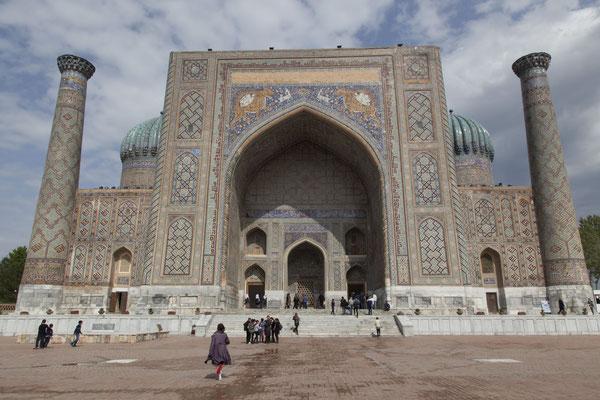 Samarkand, Registan, Sherdor-Medrese