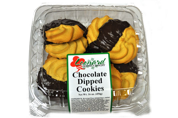 16 oz Chocolate Dipped Cookies