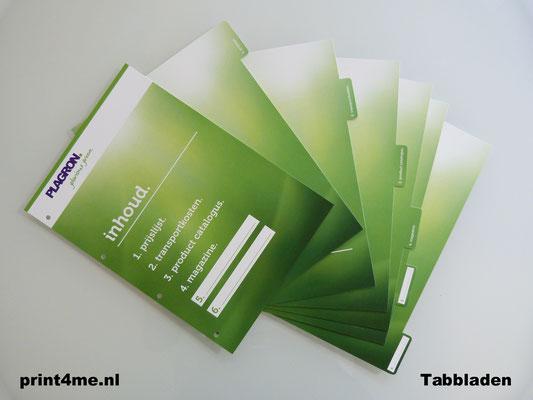 tabbladen-printen