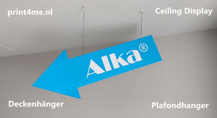 plafondhanger=printen