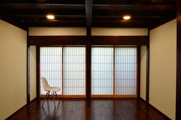 【注文住宅】古民家改修(リノベーション) 鍜冶町の家 人形宿部屋