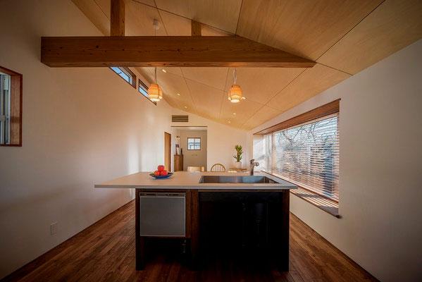 【注文住宅】千葉県松戸市の二世帯住宅 重層長屋の家 キッチン