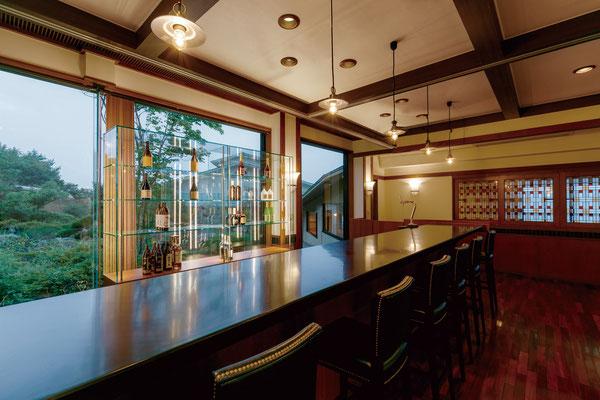 【店舗設計】石川県七尾市和倉温泉旅館多田屋 blue garden bar picasso