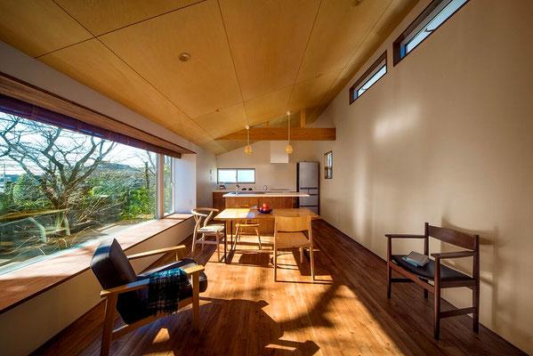 【注文住宅】千葉県松戸市の二世帯住宅 重層長屋の家 2階リビング
