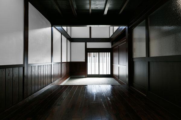 【注文住宅】石川県七尾市の古民家改修(リノベーション) 玄関ホール