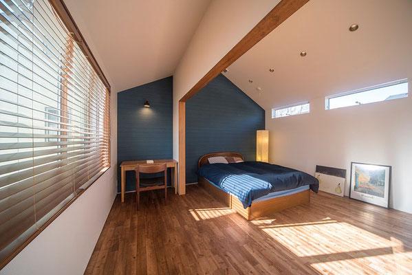 【注文住宅】千葉県松戸市の二世帯住宅 重層長屋の家 寝室