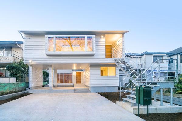 【注文住宅】千葉県松戸市の二世帯住宅 重層長屋の家