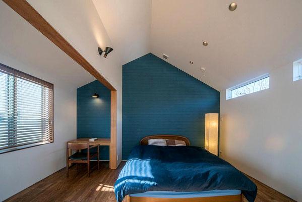 【注文住宅】千葉県松戸市の二世帯住宅 重層長屋の家 2階寝室