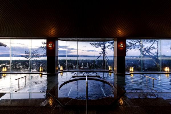 【店舗設計】石川県七尾市和倉温泉旅館多田屋 大浴場
