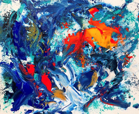 長山太一 F3号 『抽象の世界の私』