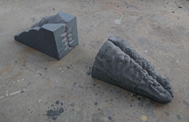 藤沢恵 H20×W120×D30cm 『境域』