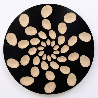 鈴木生 木・Φ40×D3cm 『The Circle of Beginning』