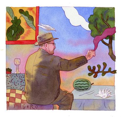 佐々木悟郎 22×21cm 『Matisse』