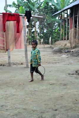 Typisches Spielzeug der armen Kinder