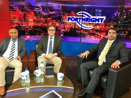 In der Sendung Forthright beim bengalischen Fernsehsender Rtv