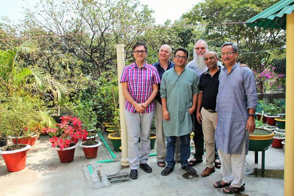 Mit dem Vorstand von Netz e.V. in Dhaka
