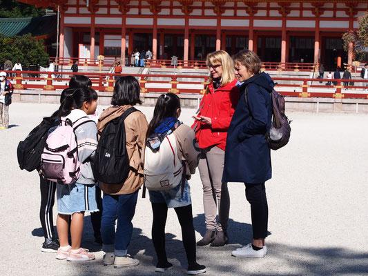 Blueクラスの限定イベント、「世界と話そう。in KYOTO」