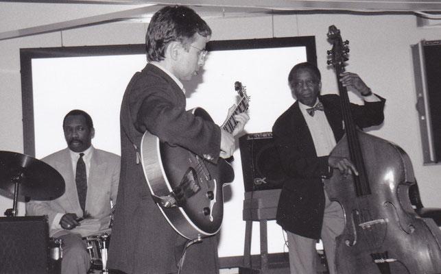 + JIMMY WOODE & ALVIN QUEEN  (Jazzkreuzfahrt Mittelmeer, 1997)