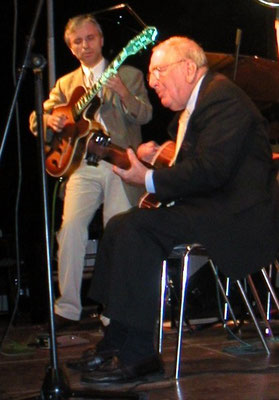 + BUCKY PIZZARELLI  (Jazzfestival Ascona, 2003)