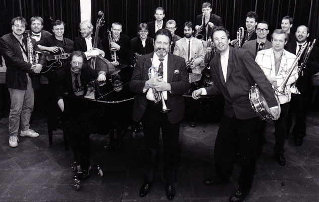 GROOVIN HIGH BIG BAND & BOBBY SHEW  (1990)