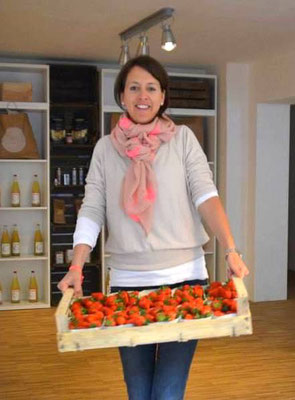 Erdbeeren liefern
