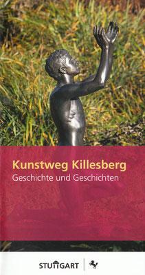 Broschüre der Stadt Stuttgart über die Kunstwerke im Höhenpark Killesberg