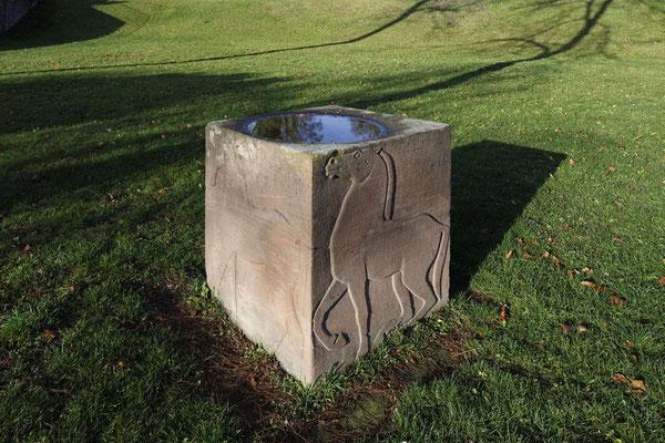 unbekannt: Reliefquader mit Pferden