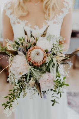 Hochzeit Strauß Brautstrauss